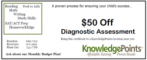 Diagnostic Coupon
